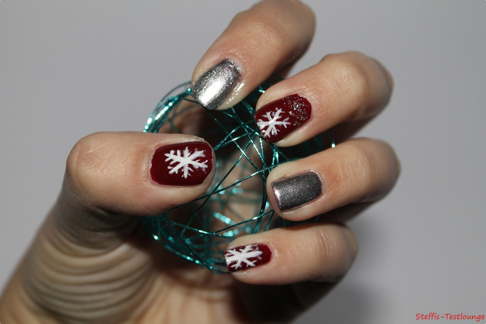 nageldesign weihnachten bilder - Nageldesign Weihnachten Nailart Nageldesign Bilder
