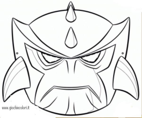 disegni uomo tigre da colorare con disegno di maschera
