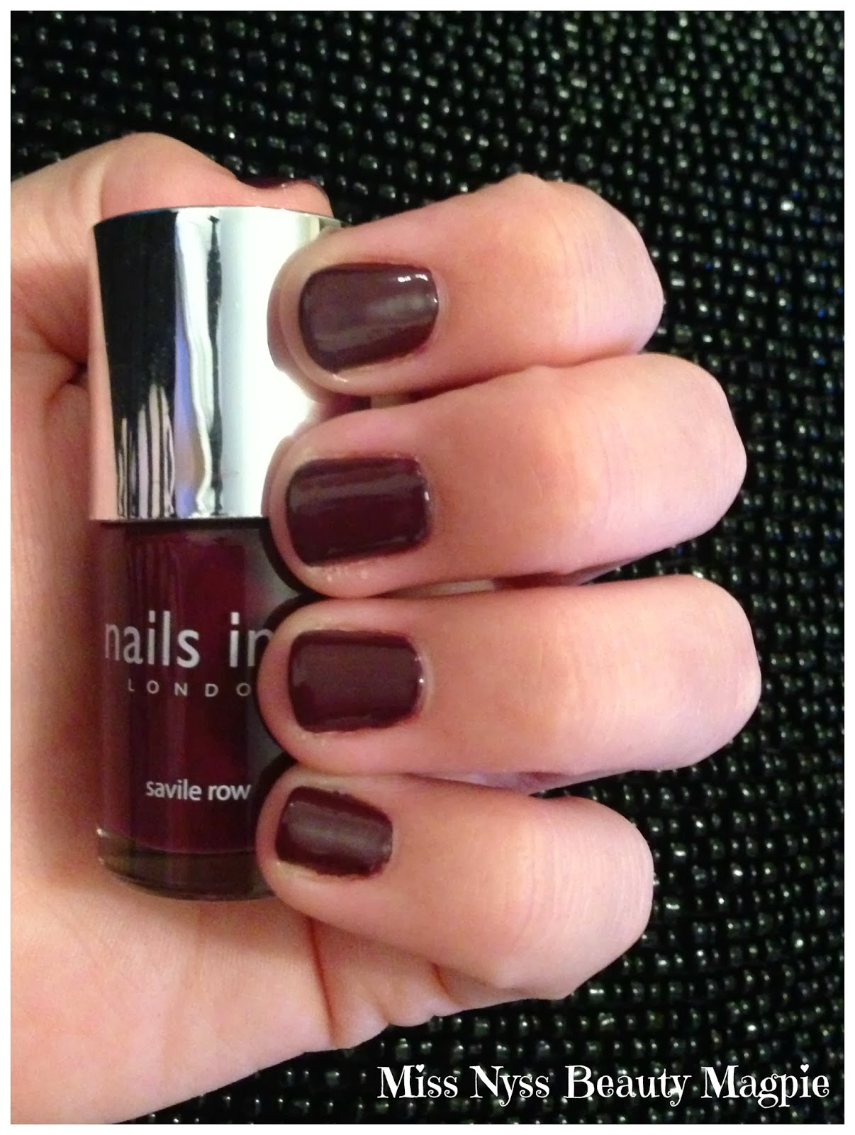 ☆ Miss Nyss Beauty Magpie ☆: NOTD - Nails Inc Nail Polish in ...