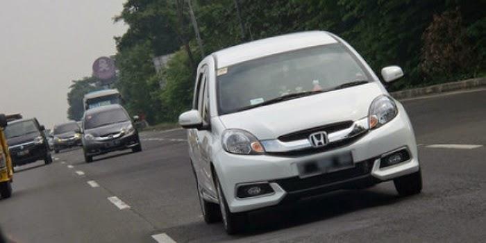 Konsumsi BBM Honda Mobilio matik tembus 23,9 km/liter