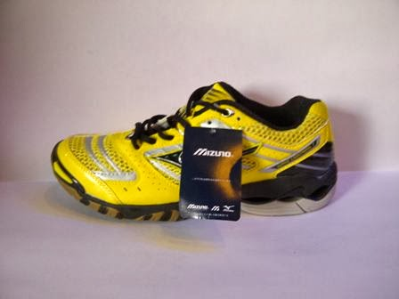 Jual sepatu Mizuno Wave Lighting 7 Harga Grosir warna kuning