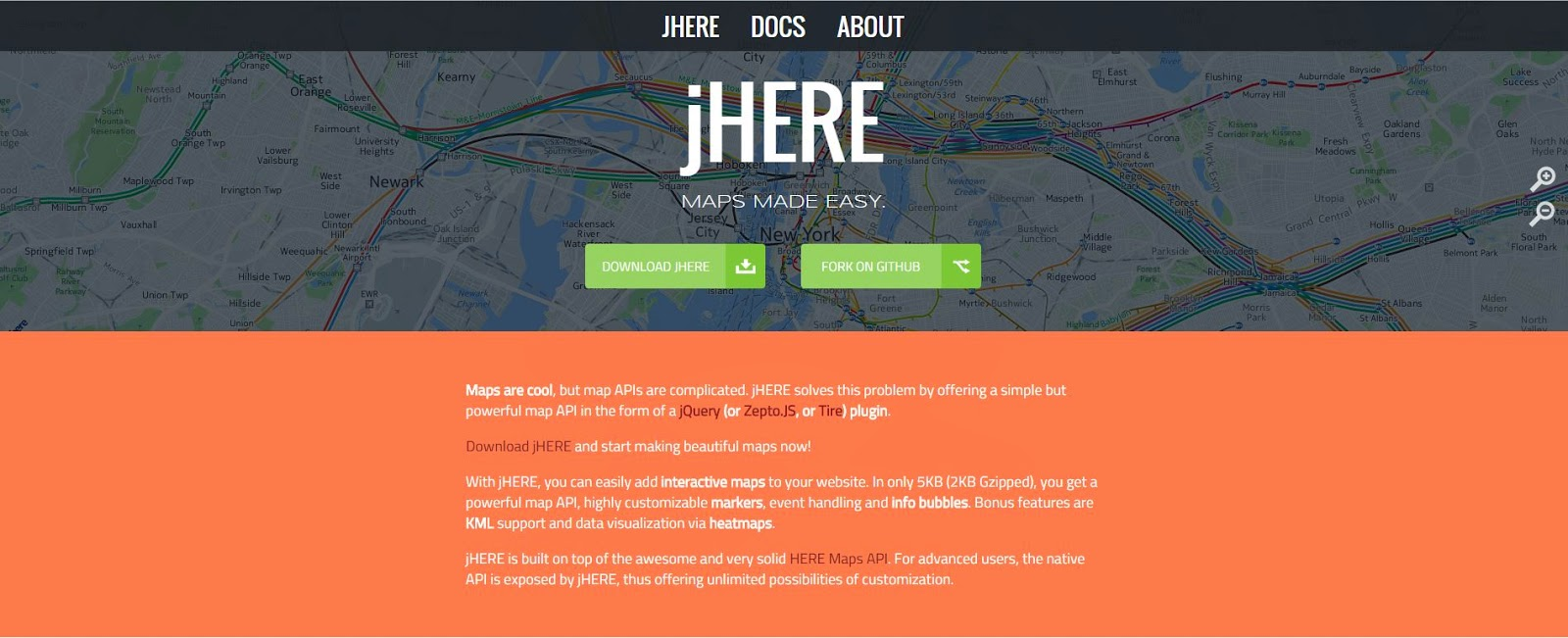 Free jquery map plugins coding defined 2 gmapsjs google maps api with less pain and more fun baditri Images