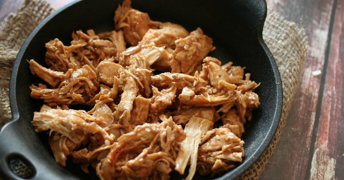 Thee Cook: All Purpose Slow Cooker Shredded Chicken