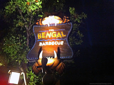 Disneyland Adventureland After Hours Closed night Bengal