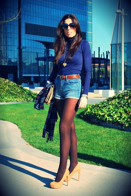 Shorts vaqueros