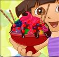 Dora Ice Cream Decor Skill