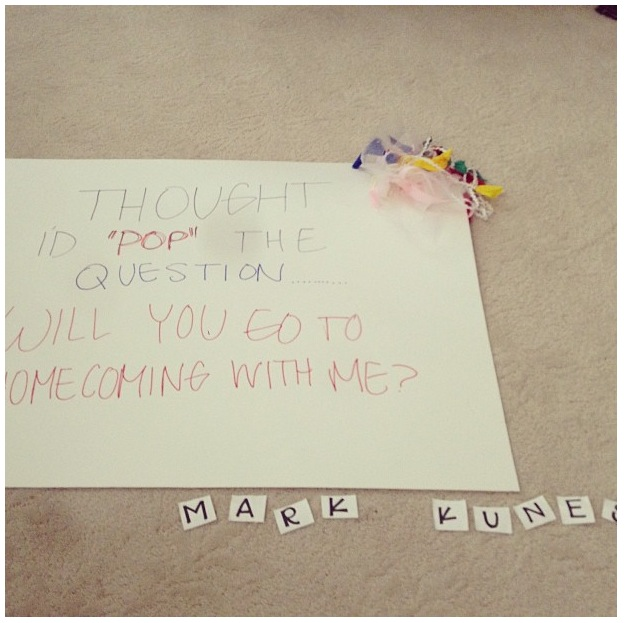 Funny ways to ask a boy to a dance