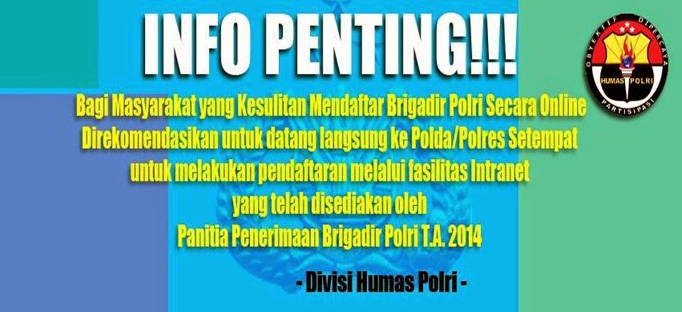 Informasi Terbaru Seputar Penerimaan & Pendaftaran Anggota POLRI
