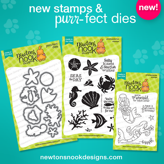 August Release from Newton's Nook Designs | Stamps and dies