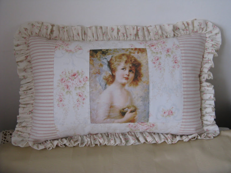 Cuscino vittoriano elegante