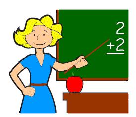 Teacher Working Clipart