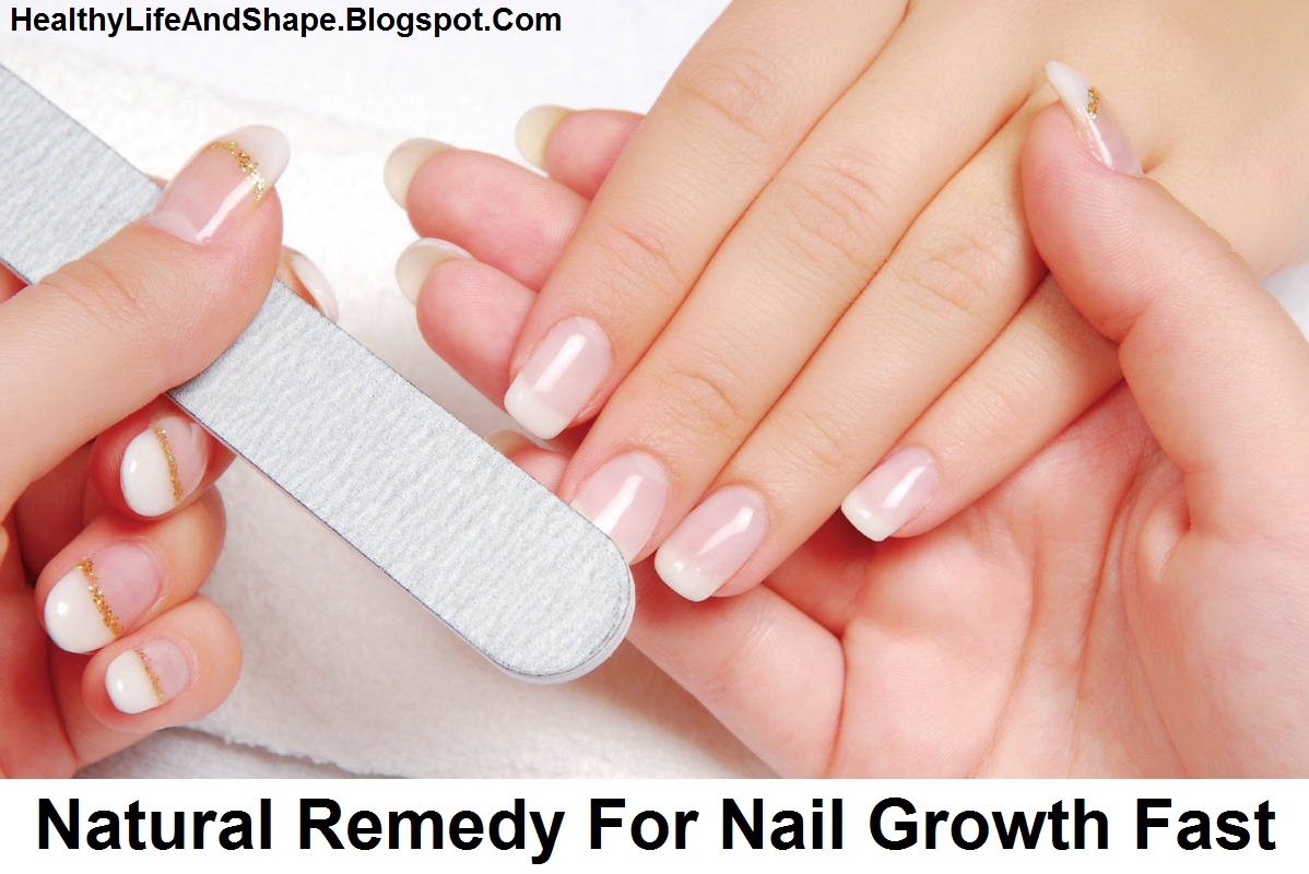 Top 5 Natural Remedy For Nail Growth Fast and Strength - Healthy ...