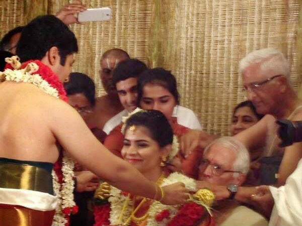 Singer Chinmayi Rahul marriage and reception Album