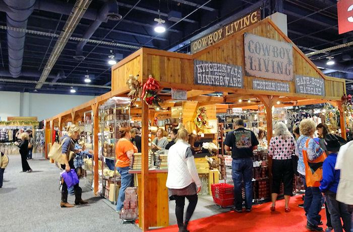 Cowboy christmas las vegas gift show vendors