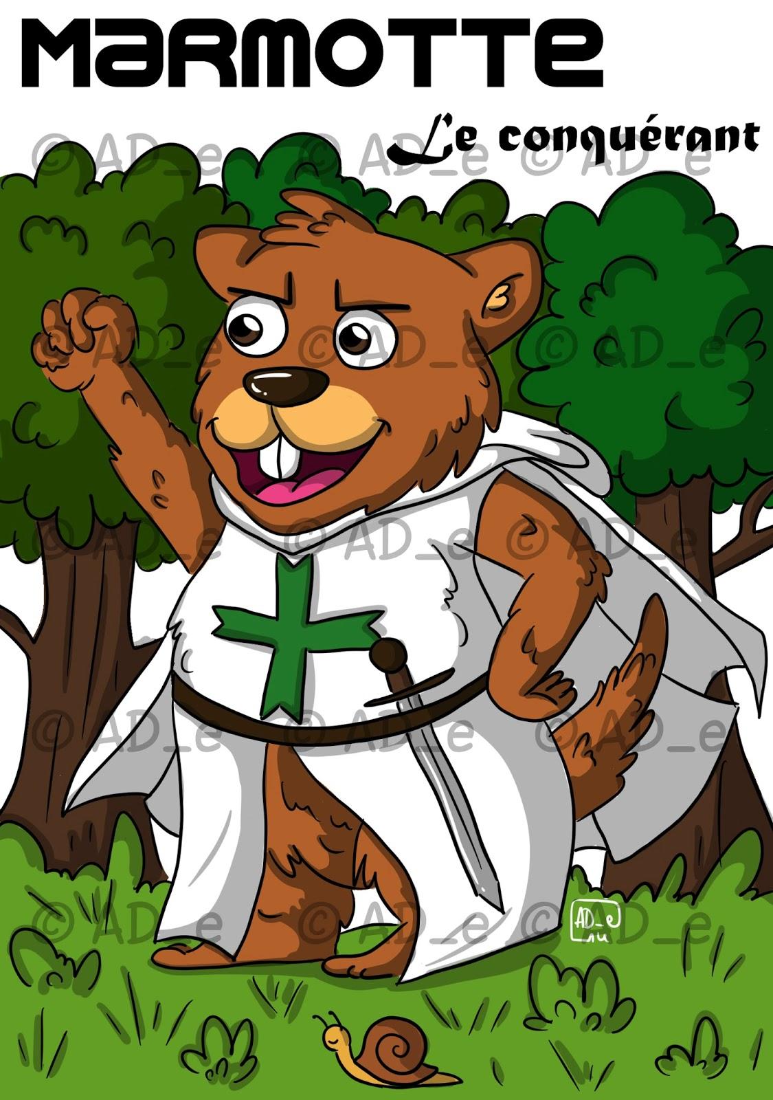 Ad e 39 dessins en 2 semaines hell yeah - Dessiner une marmotte ...
