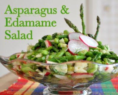 Asparagus & Edamame Salad