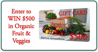 MyGreenFills $500 Farmbox Direct Giveaway. Ends 11/28