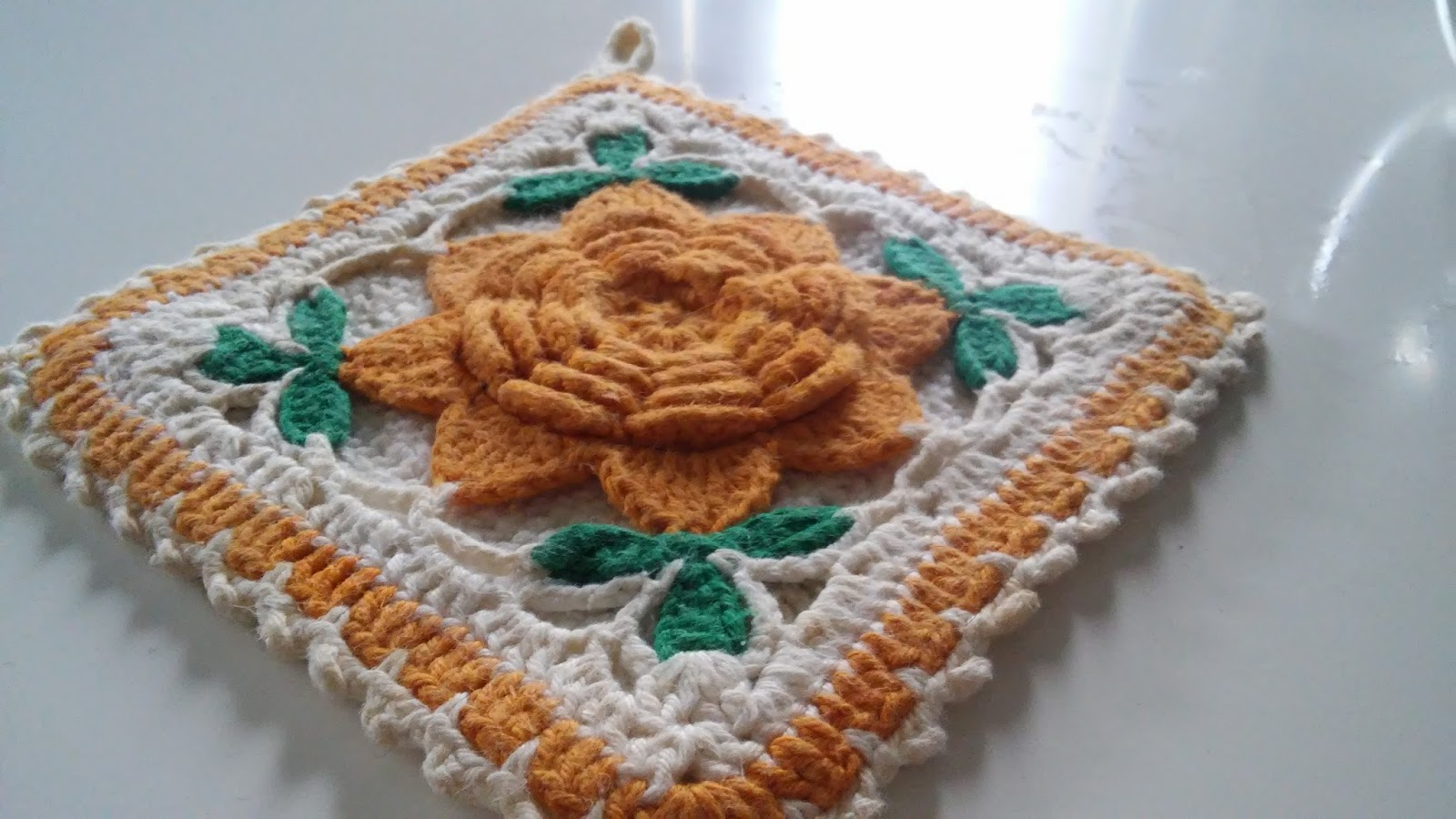 275 Tage Granny Squares 73 Granny Anleitung Chrochet Pattern