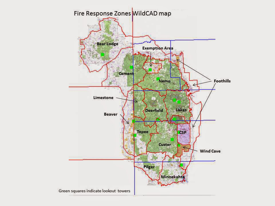 Great Plains Fire Information: Response Area