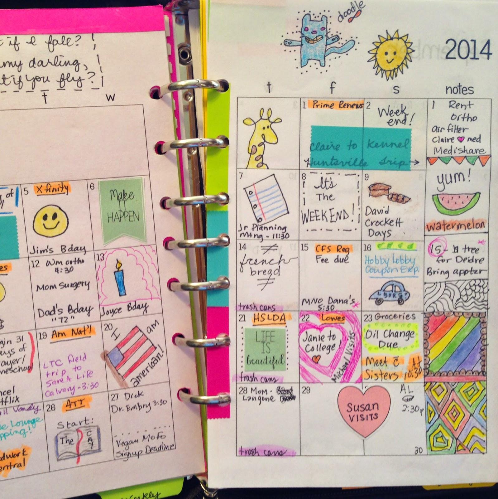 今年こそは見やすくてかわいい手帳にしたい!参考になる活用術8選