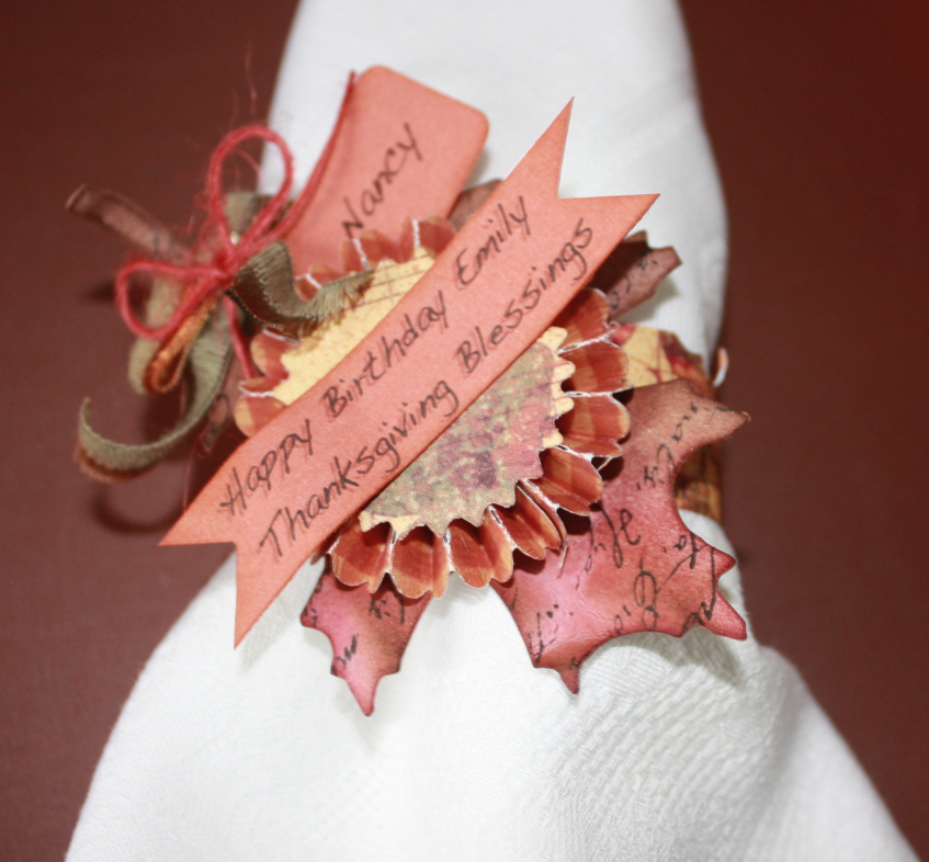 creations by saz three styles of thanksgiving napkin. Black Bedroom Furniture Sets. Home Design Ideas