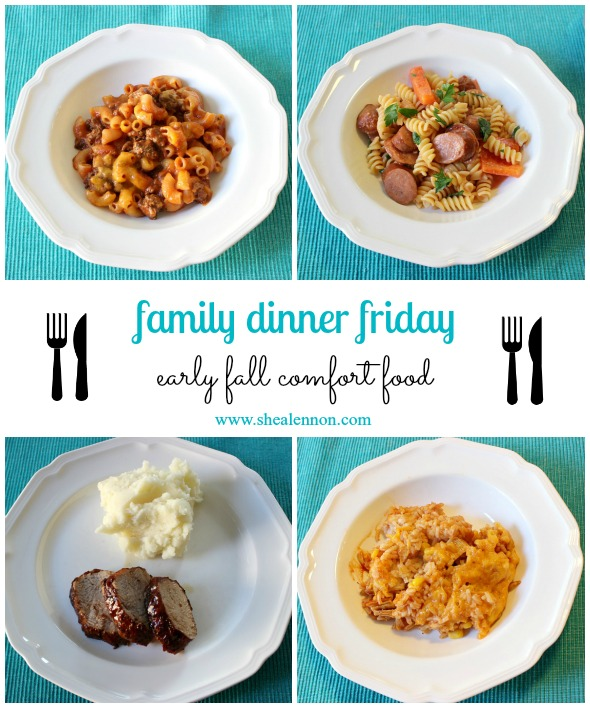 Early fall comfort food dinner ideas | www.shealennon.com