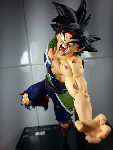 Jual Action Figure Dragon Ball Z Scultures 5 Big - SS Son Goku and Barduck PVC figure