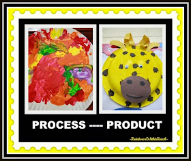 Process vs. Product in Children's Art at RainbowsWithinReach