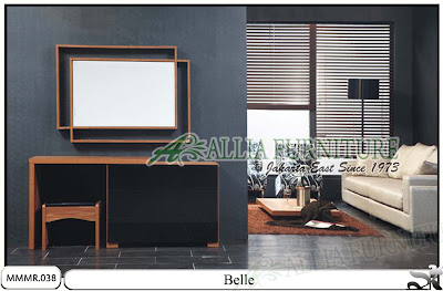 Meja rias minimalis desain modern Belle