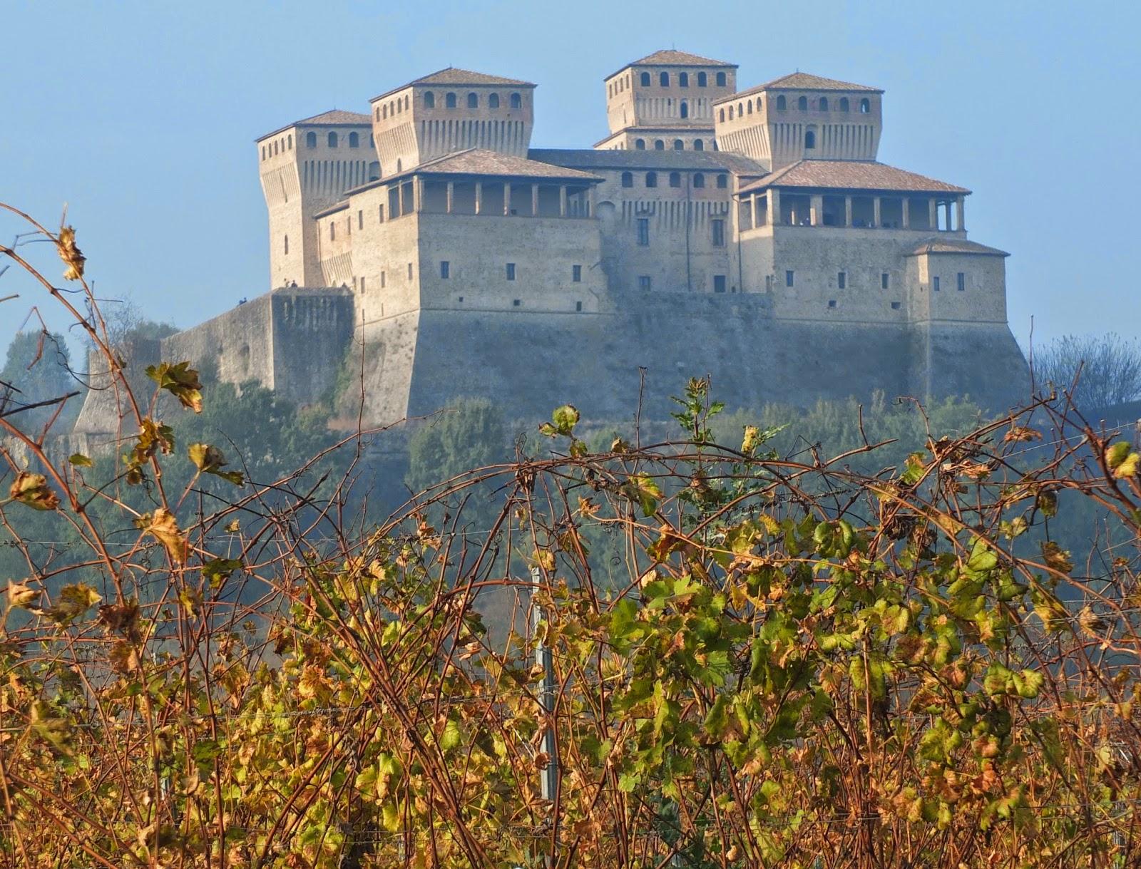 Torrechiara Castle near Parma