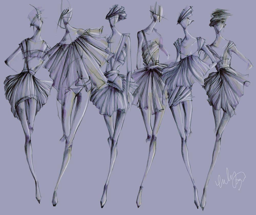 Fashion Templates for Fashion Drawing 1