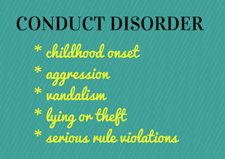 conduct disorders in childhood and adolescence pdf