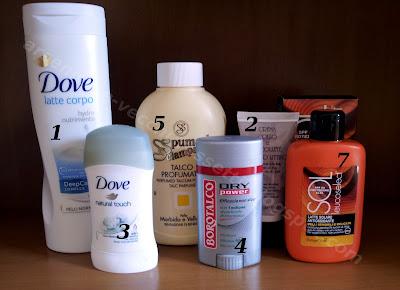 Routine cosmetica corpo luglio 2013