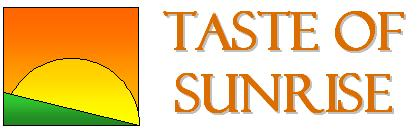 Taste of Sunrise