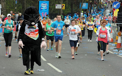London Marathon Roland Rat