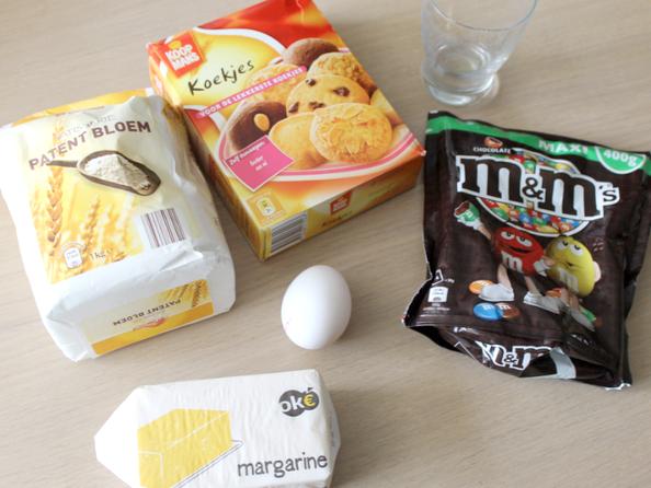 Recept | M&M Cookies.