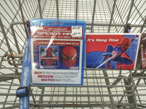 The Amazing Spider-Man Blu-Ray DVD UltraViolet Limited Edition Mask Gift Set Pre-Purchase and Spider-Man Invitations