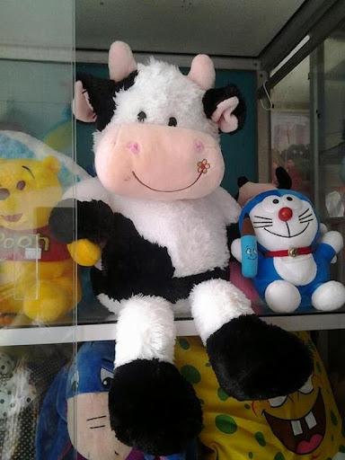 Boneka sapi jumbo boneka sapi besar boneka sapi lucu toko boneka