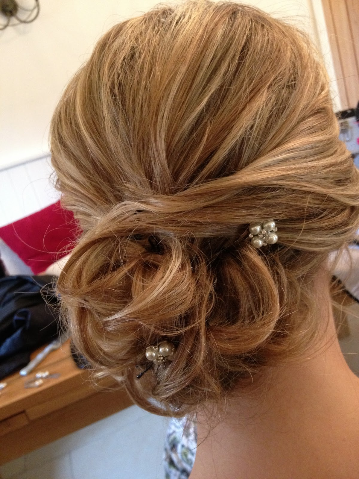 Fordham Hair Design ... Wedding Bridal Hair Specialist Kingscote Barn Wedding Hair Styling For ...