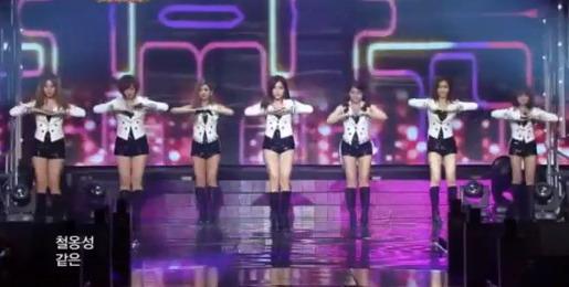 T-ara di KBS Music Bank Spesial Akhir Tahun