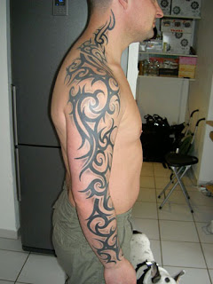 tribal arm sleve tattoo designs