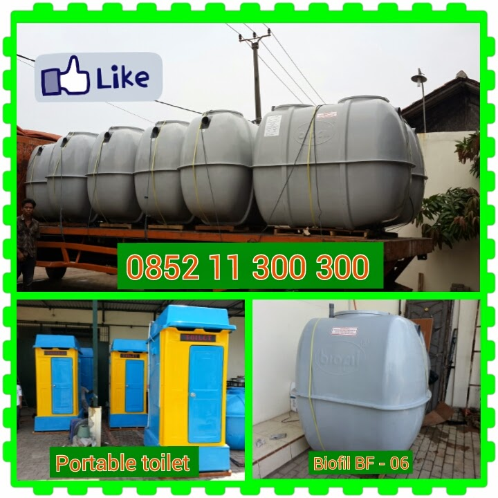 jual septic tank biofil, flexible toilet