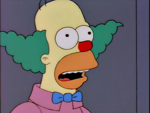 Simpsonspedia la recensione di tutti gli episodi dei - Clown simpson ...