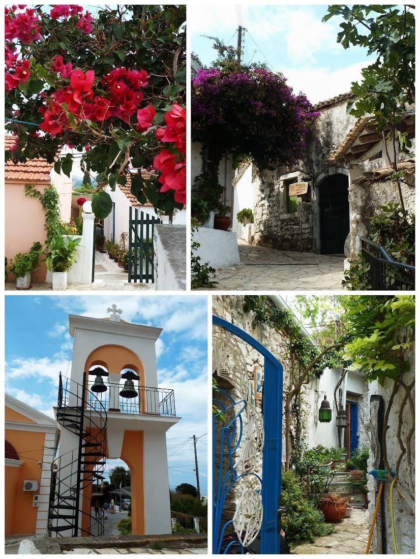 Impressionen aus Afionas im Nordwesten der Insel Korfu (Griechenland)