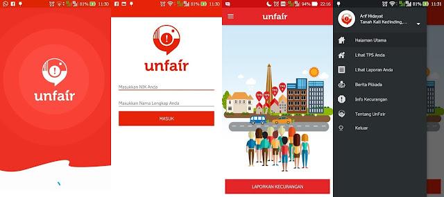 Unfair: Laporkan Tindak Kecurangan Pilkada Pakai Apps Ini