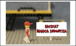 Hakikat Bahasa Indonesia
