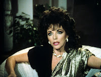 Joan Collins - Dynasty- Black Dress