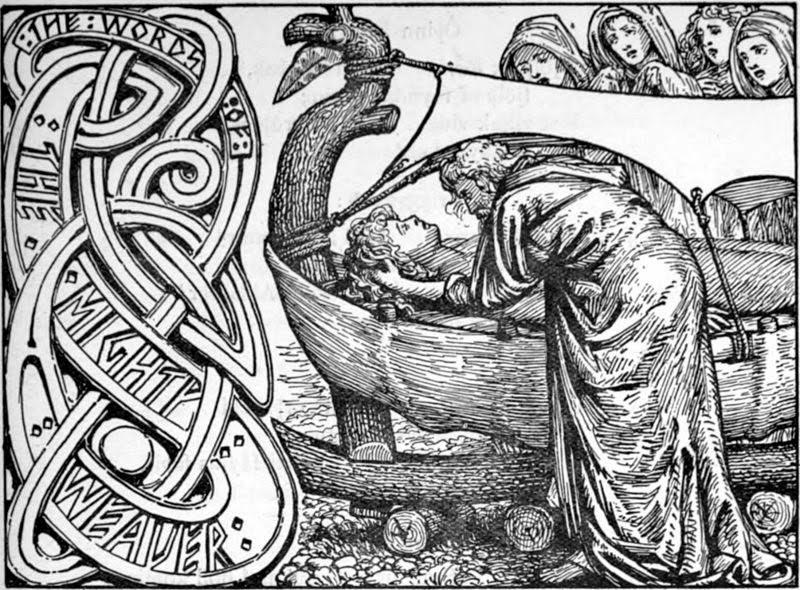 Odin se despede de Balder