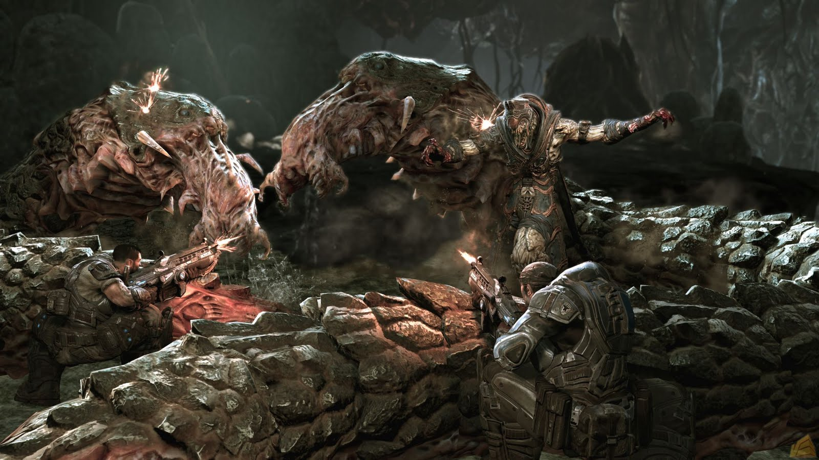 Gears of War HD & Widescreen Wallpaper 0.709053058421313