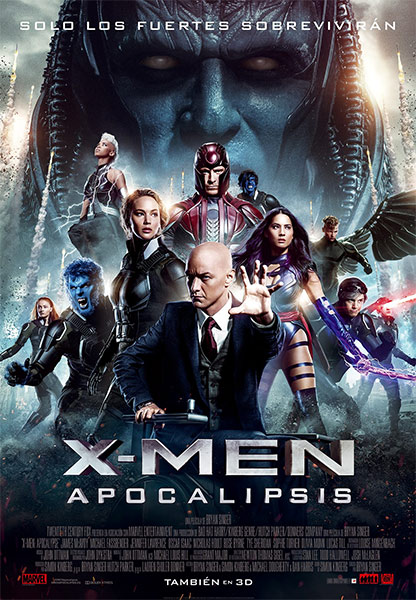 X-Men Apocalipsis (2016) Español Latino